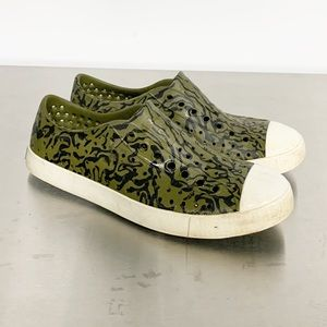 Native | Jefferson Camo Rubber Slip-on Sneaker 8